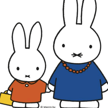 Miffy and her mother