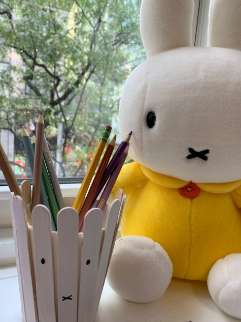 Miffy pencil holder 2