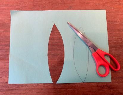 Paper Tulip Step 13
