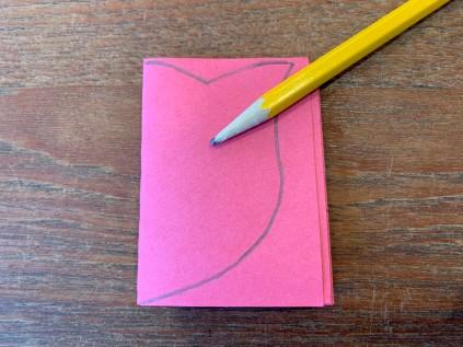 Paper Tulip Step 5