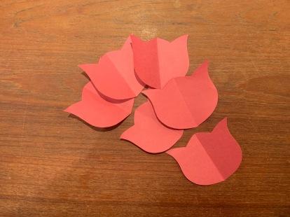 Paper Tulip Step 7.5