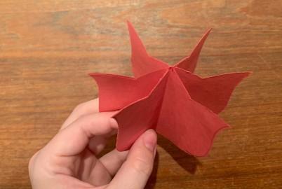 Paper Tulip Step 9