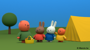 Miffy camping 2